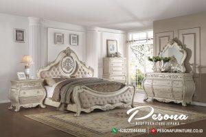 Set Tempat Tidur Mewah Classic Luxcury Furniture Berkualitas