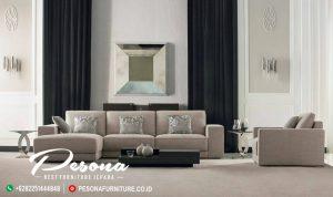 Sofa Bungkus Santai Ruang Tv Minimalis Sudut L Terbaru Mebel Jepara