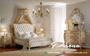 Furniture Tempat Tidur Mewah Jepara Dengan Model Classic