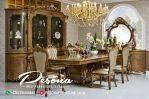Meja Makan Mewah Modern Klasik Terbaru, Set Meja Ruang Makan