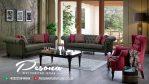 Furniture Sofa Set Tamu Retro Minimalis Desain Modern