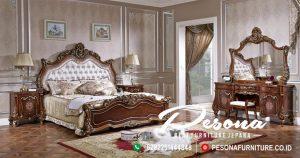 Jual Tempat Tidur Jati Ukir Mawah Klasik Mewah