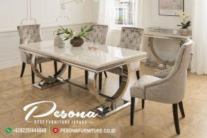 Set Meja Ruang Makan Minimalis Modern