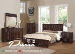 Set Tempat Tidur Jati Minimalis Modern Terbaru