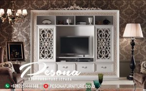 Cabinet Almari Set Bufet Tv Desain Mewah