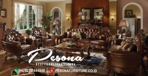 Jual Sofa Ruang Tamu Jati Desain Mewah Elegan