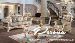 Set Sofa Tamu Mewah Dengan Desain Terbaru