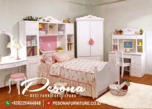 Jual Tempat Set Tidur Anak Perempuan