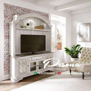 Meja Bufet Tv Desian Modern Rustik