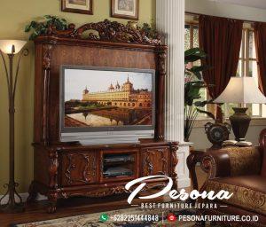 Meja Bufet Tv Jati Classic Mewah Furniture