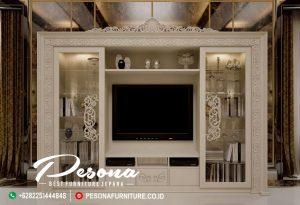 Interior Meja Tv Cabinet Klasik Mewah