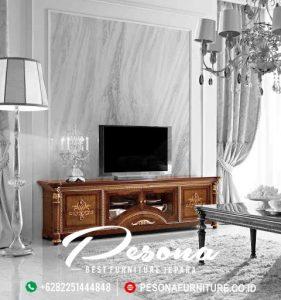 Interior Meja Tv Jati Mewah Klasik