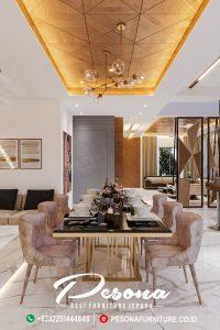 Meja Makan Modern Desain Home Industrial