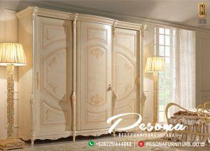 Model Almari Pakaian Pintu 3 Mewah