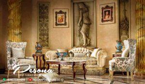 Sofa Ruang Tamu Set Mewah Napoleon