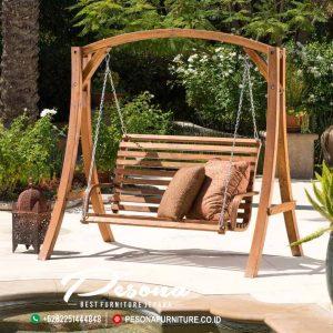 Ayunan Taman Dari Furniture Kayu