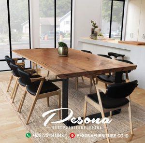 Ruang Meja Makan Caffe Modern