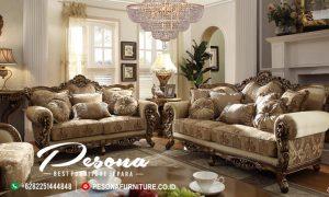 Sofa Tamu Mewah Antique Terbaru