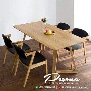 Kursi Makan Cafe Dengan Meja Jati