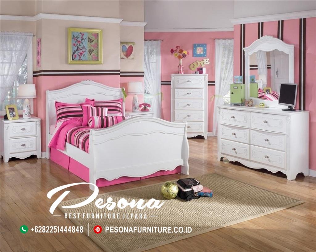 Jual Tempat Tidur Anak Nuansa Warna Pink