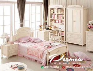 Kamar Set Tidur Anak Model Perempuan Terbaru Jepara