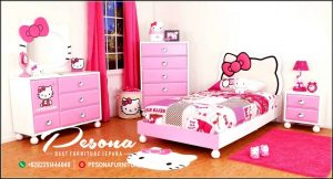 Kamar Tidur Anak Perempuan Hello Kitty Terbaru