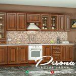 Kitchen Set Dapur Mewah Ukir Klasik Jepara