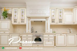 Kitchen Set Duco Putih Klasik Pesona Furniture