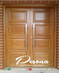 Pintu Rumah Jati Jepara Model Terbaru
