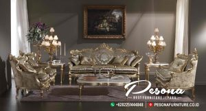 Set Sofa Tamu Mewah Antique Italian