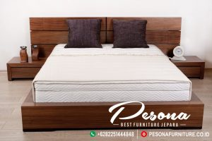 Set Tempat Tidur Jati Minimalis Klasik