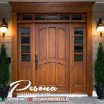 Desain Pintu Kusen Rumah Utamana Minimalis Eropa