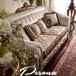 Sofa Tamu Mewah Bahan Baku Kayu Jati Model Gostinaya