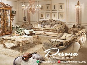 Set Sofa Tamu Waldorf Jepara Ukir Mewah Terbaru