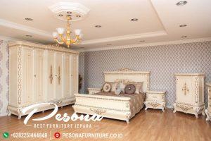 New Desain Tempat Tidur Klasik, Set Kamar Tempat Tidur Mewah Jepara