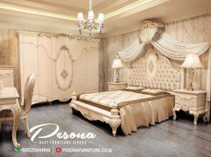 New Model Terbaru Set Kamar Tempat Tidur Mewah Klasik Pesona Furniture