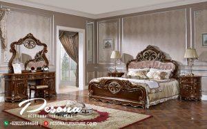 Set Kamar Tempat Tidur Jati Jepara, Tempat Tidur Mewah Ukir Klasik New