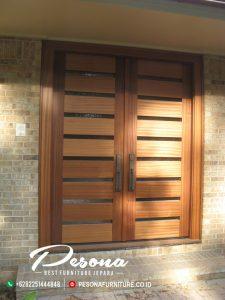 Kusen Pintu Jati Minimalis Terbaru, Pintu Rumah Kayu Jati Jepara