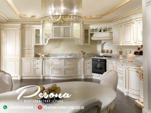 New Desain Kitchen Set Mewah Terbaru, Kitchen Set Klasik Jepara