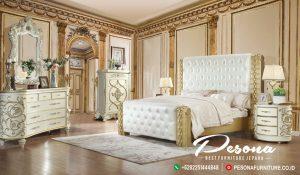 Tempat Tidur Mewah Kayu Jepara, Mebel Jepara Set Tempat Tidur Klasik