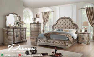 New Desain Tempat Tidur Natural Classic Mewah Mebel Jepara