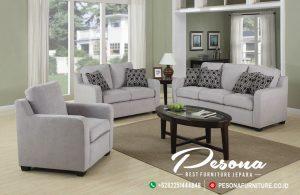 New Desain Sofa Ruang Tamu Keluarga Minimalis Jati