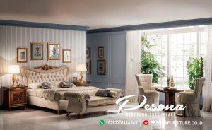 Tempat Tidur Mewah Modern Classic Luxcury Furniture Jepara