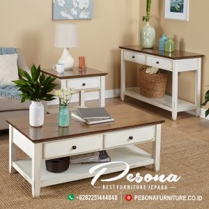Coffee Table Meja Ruang Tamu Minimalis