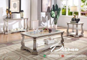 Coffee Table Set Mewah Luxury Classic