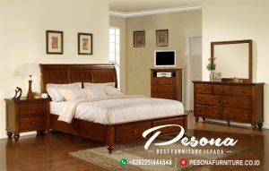 Tempat Tidur Modern Jati Minimalis Furniture Jepara