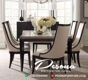 Set Ruang Meja Makan Modern