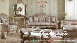 Sofa Ruang Tamu Mewah Set Model Classic