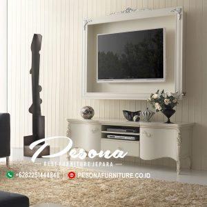 Bufet Meja Tv Mewah Furniture Jepara