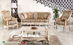 Interior Sofa Tamu Klasik Jepara Terbaru